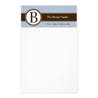 Personalized Family Stationery