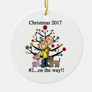 Personalized Family With Pets Ornament