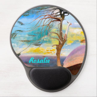 Personalized Famous Hungarian Painting Gel Mousepa Gel Mouse Pad