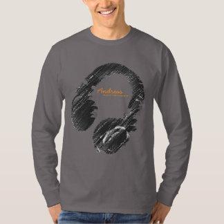personalized fashion DJ T-Shirt