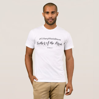 Personalized Father of the Bride T-shirt from Set