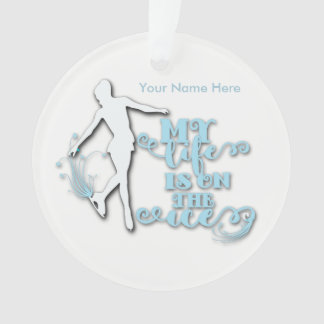 Personalized Figure Skater Ornament