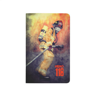 Personalized Firefighter Pocket Journal