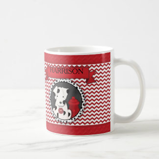 Personalized Fireman Cup