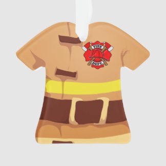 Personalized Fireman Firefighter Ornament