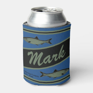Personalized Fishing Design Beverage Cooler