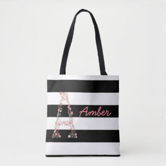 Personalized floral Bag