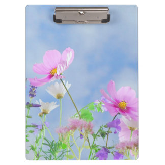 Personalized|| Floral Clipboard