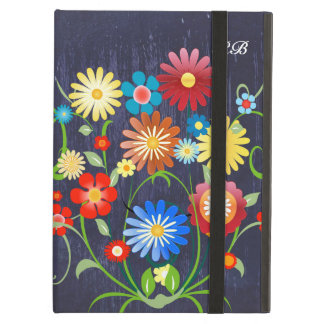 Personalized Floral explosion of color reprise Case For iPad Air