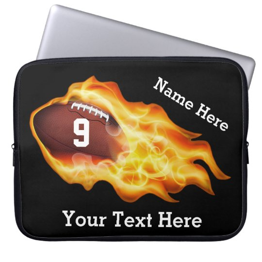 Personalized Football Cases with 3 Text Templates