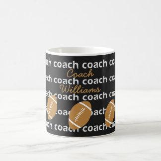 Personalized Football Coach Mug Sports Themed