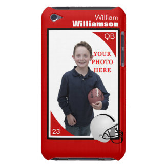 Personalized Football iPod Touch Case