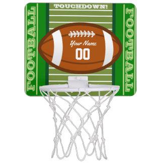 Personalized Football Mini Basketball Backboard