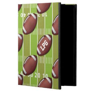 Personalized Football Pattern on Sports Field