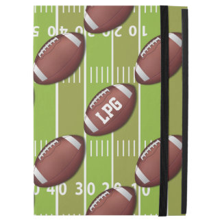 Personalized Football Pattern on Sports Field