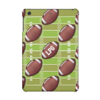 Personalized Football Pattern on Sports Field iPad Mini Retina Cases