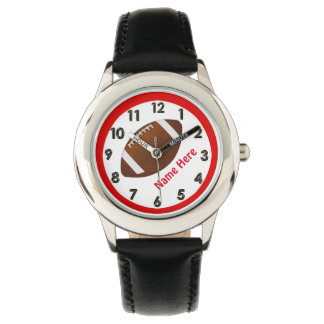 Personalized Football Watches for Boys
