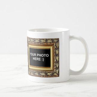 Personalized Framed Family Photo Classic White Coffee Mug