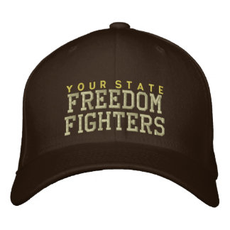 Personalized Freedom Fighters Embroidered Hat