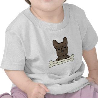 Personalized French Bulldog T Shirt