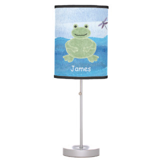 Personalized Frog Lamp