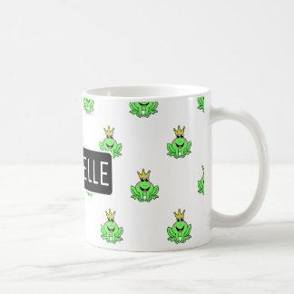 Personalized Frog Prince Coffee Mug