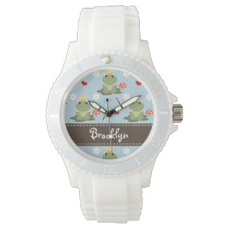 Personalized Frog Prince Watch