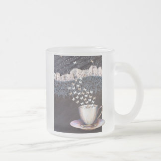 Personalized Frosted Glass Mug Vienna Coffee