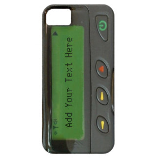 Personalized Funny 90s Old School Pager Case For The iPhone 5