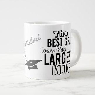 Personalized Funny Best GRAD Big Mug Graduation