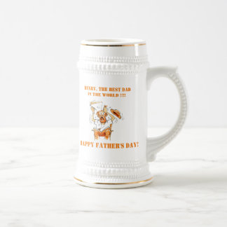Personalized Funny Fathers Day Mugs Stein