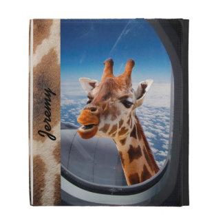 Personalized Funny Giraffe Caseable iPad Folio iPad Cases