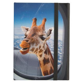 Personalized Funny Giraffe iPad Air Case