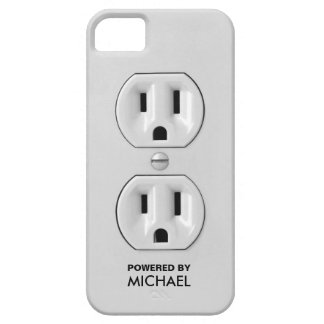 Personalized Funny Power Outlet iPhone 5 Cases