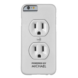 Personalized Funny Power Outlet iPhone 6 Case
