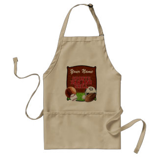 Personalized Funny Sports Bar and Grill Standard Apron