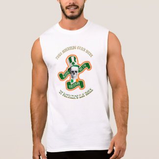 Personalized funny St Patricks day drinking team Sleeveless Shirt