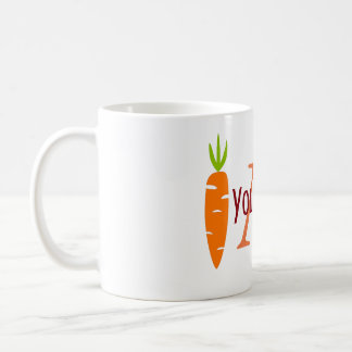 Personalized Funny Veggie Carrot Lover Mug