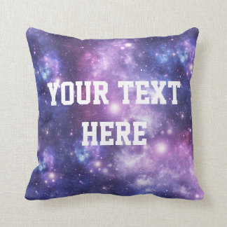 Personalized Galaxy Pillow