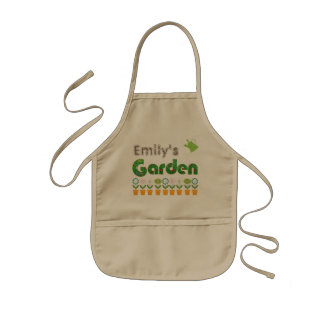 Personalized Gardening Kids Apron