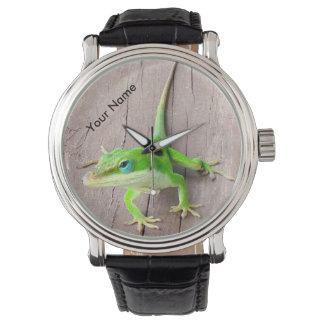 Personalized Gecko Watch