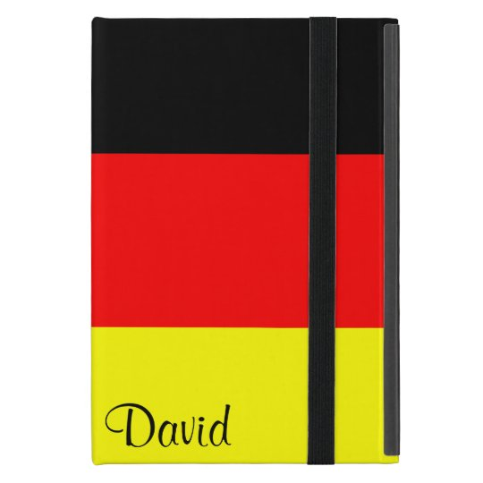 Personalized German Flag iPad Mini Case