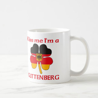 Personalized German Kiss Me I'm Guttenberg Classic White Coffee Mug