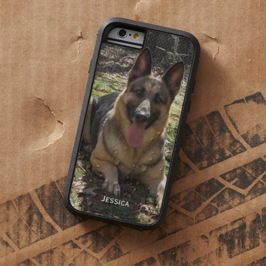 Personalized: German Shepherd iPhone 6 case