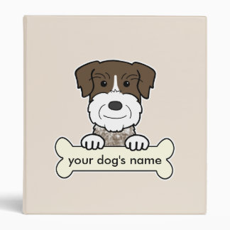 Personalized German Wirehaired Pointer Binder