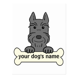 Personalized Giant Schnauzer Post Cards