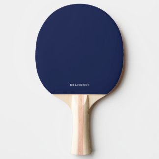 Personalized Gifts For Men Blue Ping Pong Paddle