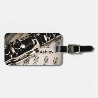 Personalized Gifts for Oboists Clarinetists Luggage Tag