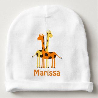 Personalized Giraffe Baby Gifts Baby Beanie