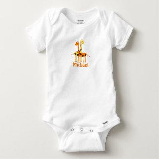 Personalized Giraffe Baby Gifts Tshirt
